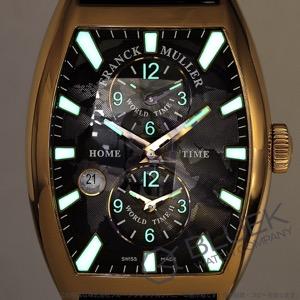 フランクミュラー トノーカーベックス マスターバンカー PG金無垢 クロコレザー 腕時計 メンズ FRANCK MULLER 8880 MB SC DT IND