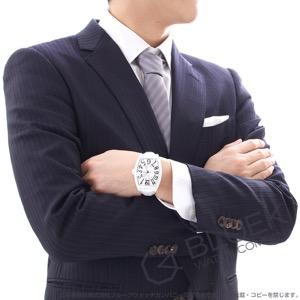 フランクミュラー トノーカーベックス ホワイトクロコ クロコレザー 腕時計 メンズ FRANCK MULLER 8880 SC WHT CRO