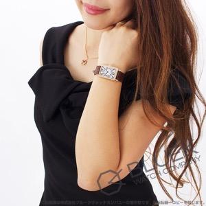 フランクミュラー ロングアイランド ダイヤ PG金無垢 クロコレザー 腕時計 レディース FRANCK MULLER 902 QZ D[FM902QZ2DPGSLLZBR]