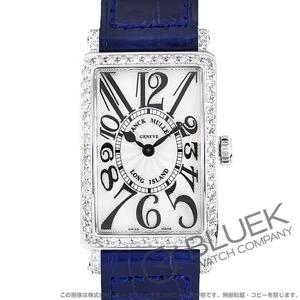 フランクミュラー ロングアイランド ダイヤ クロコレザー 腕時計 レディース FRANCK MULLER 902 QZ D 1R[FM902QZDSSSLENBL]