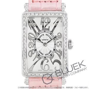 フランクミュラー ロングアイランド レリーフ ダイヤ クロコレザー 腕時計 レディース FRANCK MULLER 902 QZ REL D 1R[FM902QZDSSSLENPPKR]