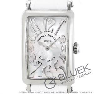 フランクミュラー ロングアイランド レリーフ クロコレザー 腕時計 レディース FRANCK MULLER 902 QZ REL MOP[FM902QZSSMOPENWHR]