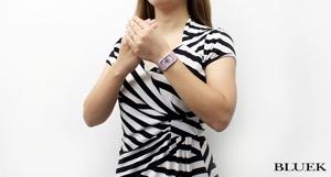 フランクミュラー ロングアイランド クロノメトロ ダイヤ WG金無垢 クロコレザー 腕時計 レディース FRANCK MULLER 952 QZ D CHRONOMETORO
