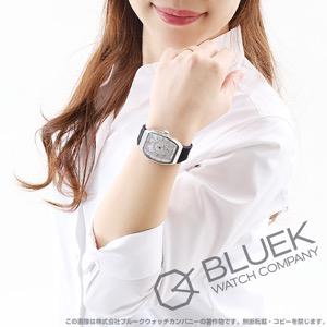 フランクミュラー ヴァンガード レディ クロコレザー 腕時計 レディース FRANCK MULLER V 32 QZ AC BC[FMV32QZSSSLLZBK]