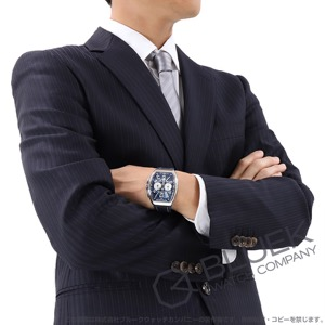 フランクミュラー ヴァンガード ヨッティング クロノグラフ 腕時計 メンズ FRANCK MULLER V 41 CC DT AC BL YACHTING