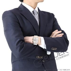 フランクミュラー ヴァンガード PG金無垢 クロコレザー 腕時計 メンズ FRANCK MULLER V41 SC DT 5N BC[FMV41SCPGWHLZWH]