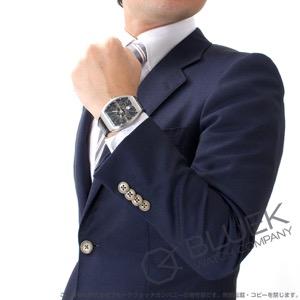 フランクミュラー ヴァンガード クロコレザー 腕時計 メンズ FRANCK MULLER V 41 SC DT[FMV41SCSSBKLZBK]