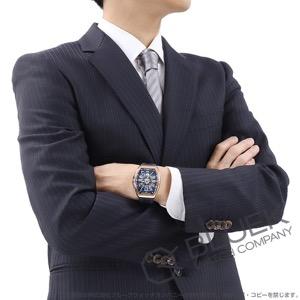 フランクミュラー ヴァンガード ヨッティング PG金無垢 腕時計 メンズ FRANCK MULLER V41 SC DT 5N BL YACHTING