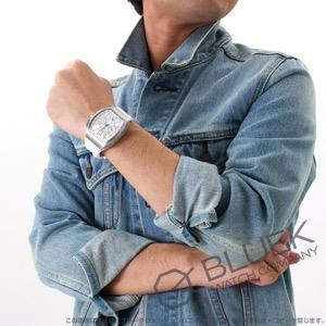 フランクミュラー ヴァンガード クロノグラフ クロコレザー 腕時計 メンズ FRANCK MULLER V 45 CC DT[FMV45CCBRSSWHLZWH]
