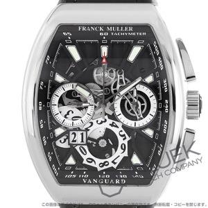 フランクミュラー ヴァンガード グランデイト クロノグラフ クロコレザー 腕時計 メンズ FRANCK MULLER V45 CC GD SQT AC NR