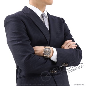 フランクミュラー ヴァンガード クロノグラフ PG金無垢 腕時計 メンズ FRANCK MULLER V 45 CC DT 5N TT[FMV45CCPGTIGYLZBR]