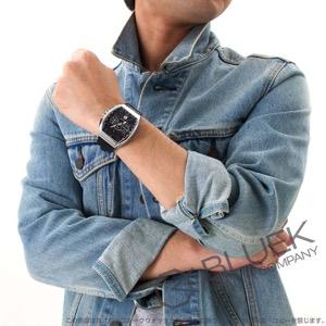 フランクミュラー ヴァンガード クロノグラフ クロコレザー 腕時計 メンズ FRANCK MULLER V 45 CC DT[FMV45CCSSBKLZBK]