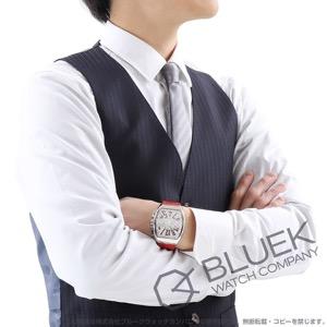 フランクミュラー ヴァンガード クロノグラフ クロコレザー 腕時計 メンズ FRANCK MULLER V 45 CC DT AC RG
