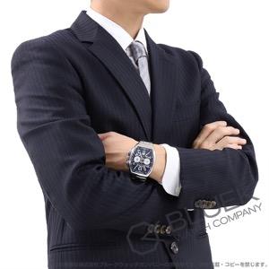 フランクミュラー ヴァンガード ヨッティング クロノグラフ 腕時計 メンズ FRANCK MULLER V 45 CC DT AC BL YACHTING