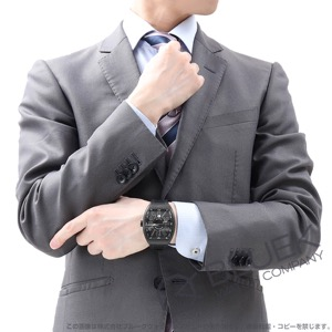 フランクミュラー ヴァンガード ブラックピクセル 腕時計 メンズ FRANCK MULLER V 45 SC DT AC NR AC