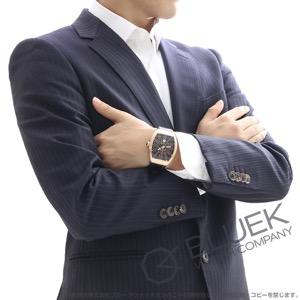 フランクミュラー ヴァンガード PG金無垢 クロコレザー 腕時計 メンズ FRANCK MULLER V45 SC DT 5N BR NR[FMV45SCBRPGBKLZBK]