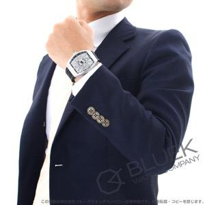 フランクミュラー ヴァンガード アイアンピクセル 腕時計 メンズ FRANCK MULLER V 45 SC DT