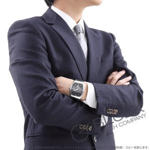 フランクミュラー ヴァンガード クロコレザー 腕時計 メンズ FRANCK MULLER V45 SC DT AC NR[FMV45SCPLSSBKLZBKGY]