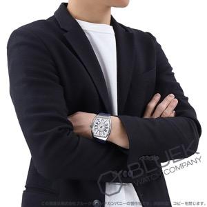フランクミュラー ヴァンガード 腕時計 メンズ FRANCK MULLER V45 SC DT AC BU[FMV45SCPLSSWHRUBL]