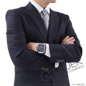 フランクミュラー ヴァンガード レーシング 腕時計 メンズ FRANCK MULLER V 45 SC DT RCG AC BL[FMV45SCRCGPLSSBLBKLZBK]