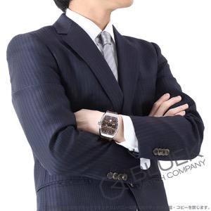 フランクミュラー ヴァンガード クロコレザー 腕時計 メンズ FRANCK MULLER V45 SC DT AC BN