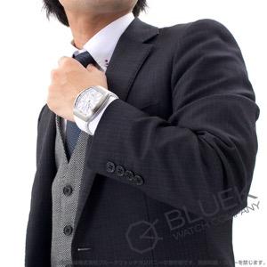 フランクミュラー ヴァンガード クロコレザー 腕時計 メンズ FRANCK MULLER V 45 SC DT[FMV45SCSSWHLZWH]