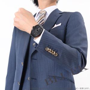 フランクミュラー ヴァンガード クロコレザー 腕時計 メンズ FRANCK MULLER V 45 SC DT[FMV45SCTINRSLBKLZBK]