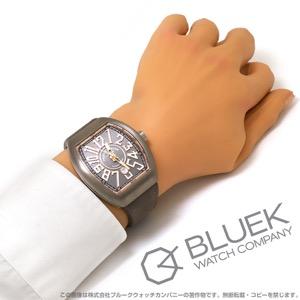 フランクミュラー ヴァンガード 腕時計 メンズ FRANCK MULLER V 45 SC DT[FMV45SCTIPGGYLZGY]