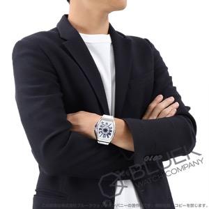フランクミュラー ヴァンガード ヨッティング クロコレザー 腕時計 メンズ FRANCK MULLER V 45 SC DT AC BL YACHTING
