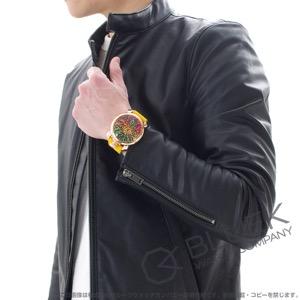 ガガミラノ マヌアーレ48MM アニマーレ 限定300本 ガルーシャレザー 腕時計 メンズ GaGa MILANO 5011ART.02S