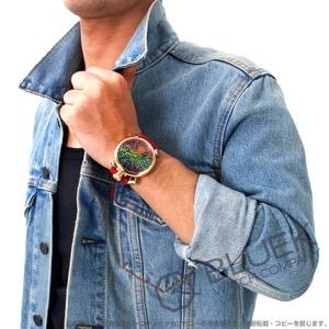 ガガミラノ マヌアーレ48MM アニマーレ 限定300本 ガルーシャレザー 腕時計 メンズ GaGa MILANO 5011ART.03S