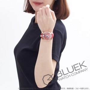 ガガミラノ マヌアーレ40MM フローティング 腕時計 ユニセックス GaGa MILANO 5021.FL.02