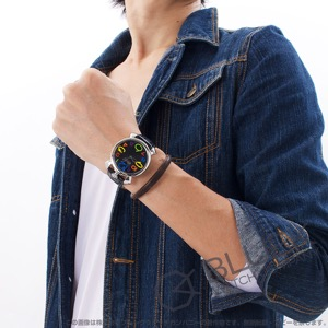 ガガミラノ マヌアーレ シン46MM リザードレザー 腕時計 ユニセックス GaGa MILANO 5090.12