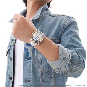 ガガミラノ マヌアーレ シン46MM リザードレザー 腕時計 メンズ GaGa MILANO 5090.13