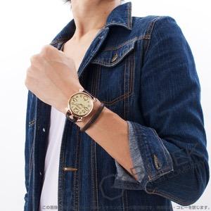ガガミラノ マヌアーレ シン46MM リザードレザー 腕時計 ユニセックス GaGa MILANO 5091.05