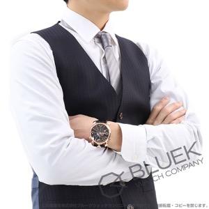 ガガミラノ シン クロノ46MM クロノグラフ リザードレザー 腕時計 メンズ GaGa MILANO 5098.03