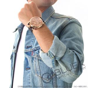 ガガミラノ マヌアーレ48MM ミラー 世界限定500本 ガルーシャレザー 腕時計 メンズ GaGa MILANO 5211.MIR.01S