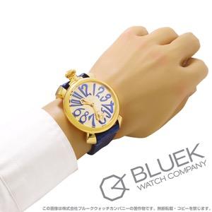ガガミラノ マヌアーレ48MM ミラー 世界限定500本 腕時計 メンズ GaGa MILANO 5214.MIR.02S