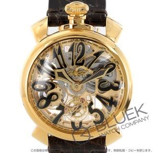 ガガミラノ マヌアーレ48MM スケルトン 腕時計 メンズ GaGa MILANO 5314.01