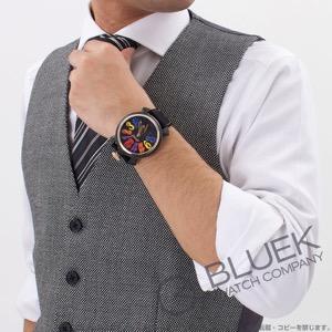 ガガミラノ マヌアーレ48MM カーボン 世界限定300本 コーデュラレザー 腕時計 メンズ GaGa MILANO 6061.01S