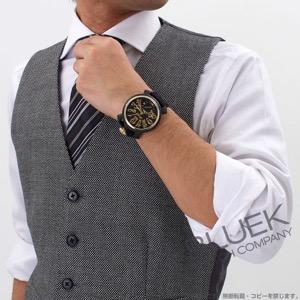 ガガミラノ マヌアーレ48MM カーボン 世界限定300本 コーデュラレザー 腕時計 メンズ GaGa MILANO 6064.01S