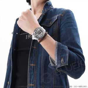 ガガミラノ マヌアーレ48MM クリスタル 腕時計 メンズ GaGa MILANO 6090.01