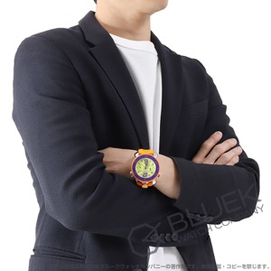 ガガミラノ クロノ スポーツ45MM クロノグラフ 腕時計 メンズ GaGa MILANO 7010.04