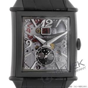 ジラールペルゴ ヴィンテージ 1945 XXL ムーンフェイズ アリゲーターレザー 腕時計 メンズ Girard-Perregaux 25882-21-223-BF6A