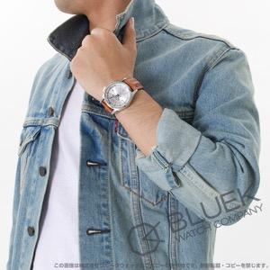 ハミルトン ジャズマスター トラベラー GMT オーストリッチレザー 腕時計 メンズ HAMILTON H32625555
