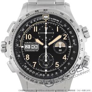ハミルトン カーキ Xウィンド デイデイト オート 世界限定1918本 クロノグラフ 腕時計 メンズ HAMILTON H77796135