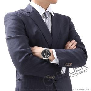 ウブロ ビッグバン アエロバン スチールセラミック クロノグラフ アリゲーターレザー 腕時計 メンズ HUBLOT 311.SM.1170.GR