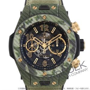 ウブロ ビッグバン ウニコ イタリア インディペンデント グリーンカムフラージュ 世界限定250本 クロノグラフ 腕時計 メンズ HUBLOT 411.YG.1198.NR.ITI16