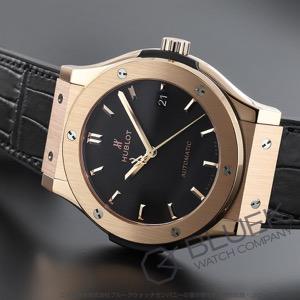 ウブロ クラシック フュージョン キングゴールド 金無垢 アリゲーターレザー 腕時計 メンズ HUBLOT 511.OX.1181.LR