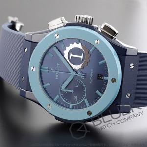 ウブロ クラシック フュージョン ガレージイタリア 世界限定100本 クロノグラフ 腕時計 メンズ HUBLOT 521.EX.7170.RX.GIT19